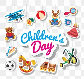 Children's Day For All Kinds Of Toys, LOGO - Children's Day PNG