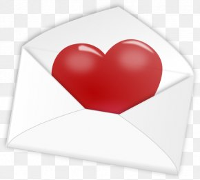 Valentine Envelope Cliparts - Illinois Tax Refund Love Letter PNG