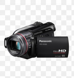 Small Hand-held Video Recorder - Nikon D300 Camcorder Panasonic High-definition Video Hard Disk Drive PNG