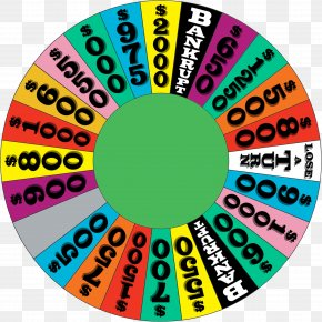 Wheel Of Fortune - Template Video Game Game Show Wheel PNG