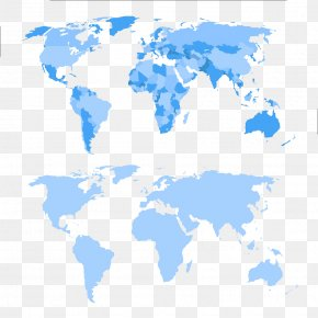 World Map - World Map Illustration PNG