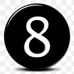 Number 8 - Icon Number Clip Art PNG