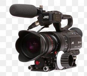 Camera Lens - Digital SLR Video Cameras Camera Lens Eyepowered Media JVC 4KCAM GY-LS300CHU PNG