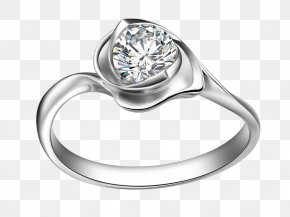 Jewelry Cartoon Pictures Cartoon Pictures,Exquisite Diamond Ring - Wedding Ring Jewellery Diamond Metal Clay PNG
