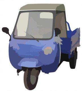 3 Wheeler Cliparts - Auto Rickshaw Car Van Three-wheeler PNG