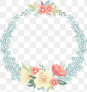 Rosette Ring - Wedding Invitation Flower Clip Art PNG