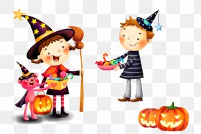 Halloween Character - Halloween Trick-or-treating Child Party Wallpaper PNG