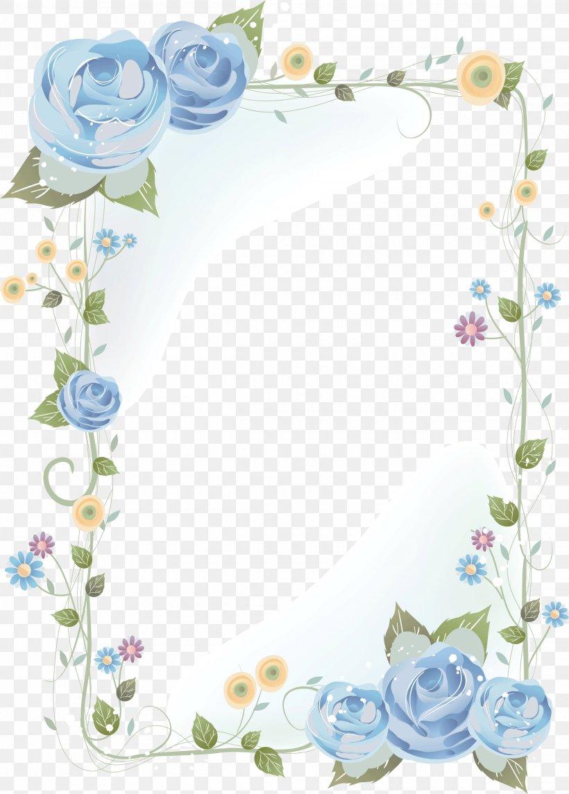 Flower Border Design Drawing Fusmun