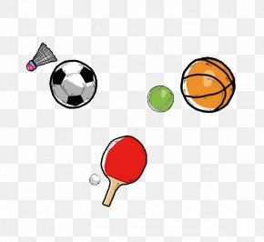 Football Basketball Badminton - Basketball Badminton Football Net PNG