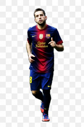 Fc Barcelona - Jordi Alba FC Barcelona La Liga Spain National Football Team PNG