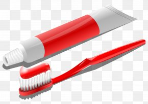 Toothpaste - Toothpaste Toothbrush Clip Art PNG