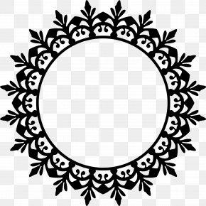 Continental Atmospheric Circular Border Ornamentat - Flower Royalty-free Clip Art PNG