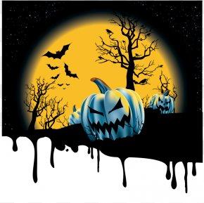 Halloween - Halloween Jack-o'-lantern Euclidean Vector PNG