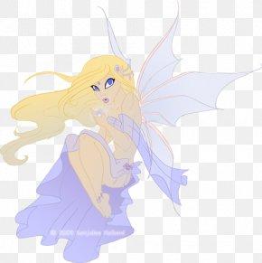 Fairy Lights - Fairy Cartoon Lilac PNG