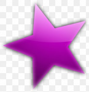Star Purple Cliparts - Star Color Purple Pink Clip Art PNG