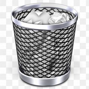 Trash Can Image - Waste Container Recycling Bin Paper PNG