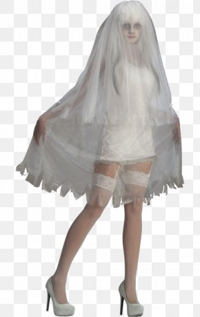 Ghost Costume - Halloween Costume Costume Party PNG