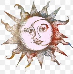 Boho - Drawing Moon Tattoo Art Sketch PNG