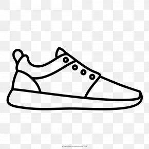 Ear - Drawing Sneakers Shoe Coloring Book Sport PNG