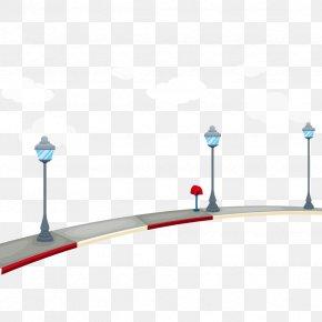 Vector Street Lights - Street Light Euclidean Vector Road PNG