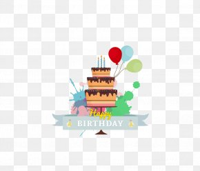 Birthday Cake - Birthday Cake Greeting Card Happy Birthday To You PNG