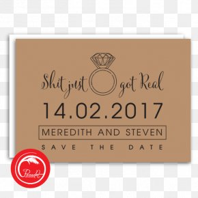 Save The Date Invitation - Wedding Invitation Save The Date Paper Card Stock PNG
