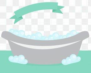 Simple And Fresh Bathtub Vector - Bathtub Foam PNG