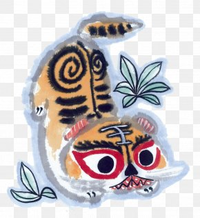 Lovely Little Tiger - Tiger Chinese Zodiac Monkey Fortune-telling Luck PNG