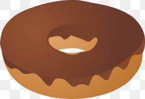 Donut - Boston Cream Doughnut Icing Clip Art PNG
