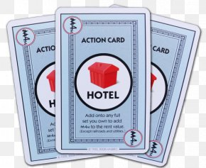 Hotel Card - Monopoly Deal Card Game Playing Card PNG