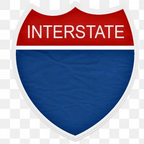 Red And Blue Flag - Interstate 210 And State Route 210 California State Route 1 Controlled-access Highway Traffic Sign PNG