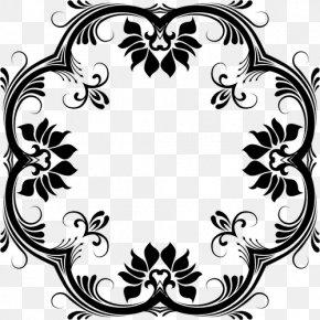 Decorative Vector American Flag - Line Art Decorative Arts Clip Art PNG