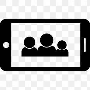 Group Communication - Mobile Phones Telephone Icon Design PNG