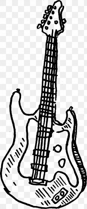 Electric Guitar - Electric Guitar String Instruments Clip Art PNG
