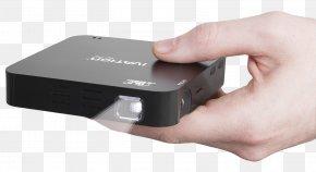 Hand Holding Pocket Projector - Handheld Projector HDMI Video Projector Overhead Projector PNG