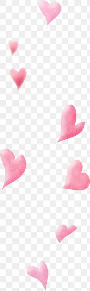 Floating Pink Hearts - Pink Gratis Download PNG