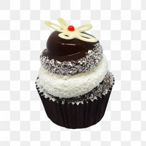 Chocolate Cake - Cupcake Muffin Petit Four Chocolate Cake Frosting & Icing PNG