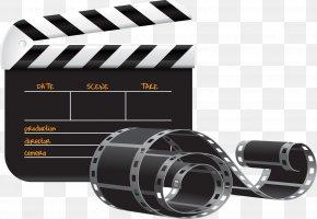 Movie Clapper Cliparts - Film Clapperboard Cinema Clip Art PNG