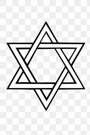 Star Of David - Star Of David Judaism Jewish Symbolism Flag Of Israel PNG