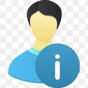 Male User Info - Human Behavior Communication PNG