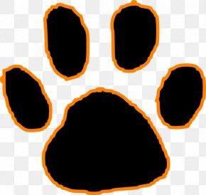 Bengals Logo Cliparts - Tiger Black Panther Cougar Paw Clip Art PNG