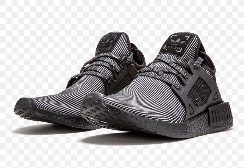 Adidas Mens Nmd Xr1 Pk Triple Black 2016 Sneakers Adidas Originals