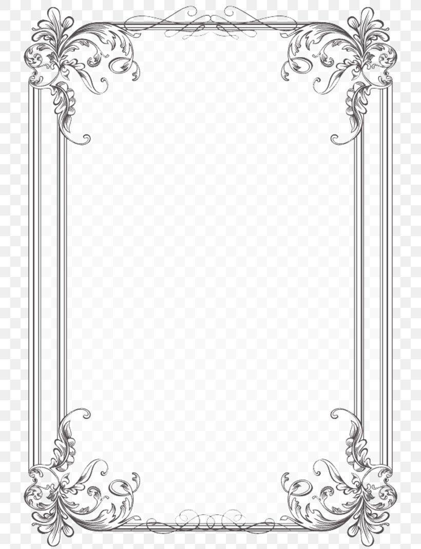 Borders And Frames Wedding Invitation Picture Frames