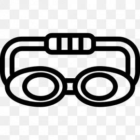 Goggles - Vector Graphics Illustration Goggles Sports PNG
