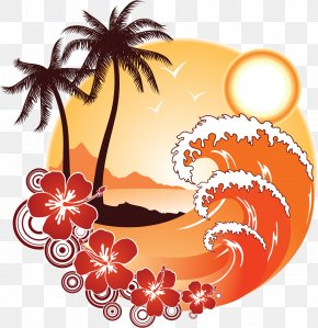 Summer Holiday - Wind Wave Clip Art PNG