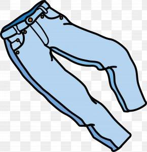 Jeans - Jeans Pants Clip Art PNG
