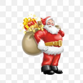 Santa Claus - Santa Claus Christmas Tree Clip Art PNG
