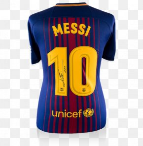 Fc Barcelona - FC Barcelona T-shirt Argentina National Football Team Jersey Autograph PNG