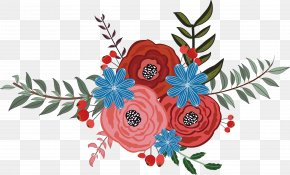 Vector Flower - Euclidean Vector Flower Floral Design PNG