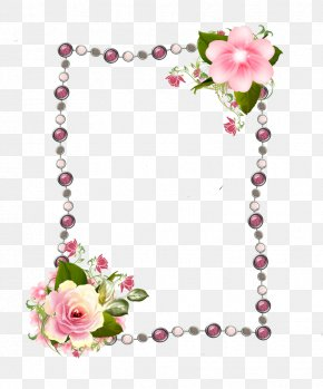Rose Frame - Picture Frames Rose Photography Clip Art PNG